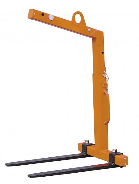 Ladegabel Do 502/T mit Verstellzinken, Höhenverstellung und automatischem Gewichtsausgleich