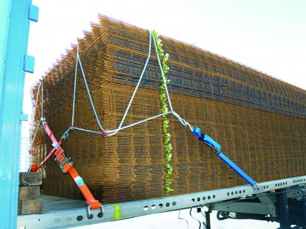 DoUniFlex Ladungssicherungssystem für Betonstahlmatten