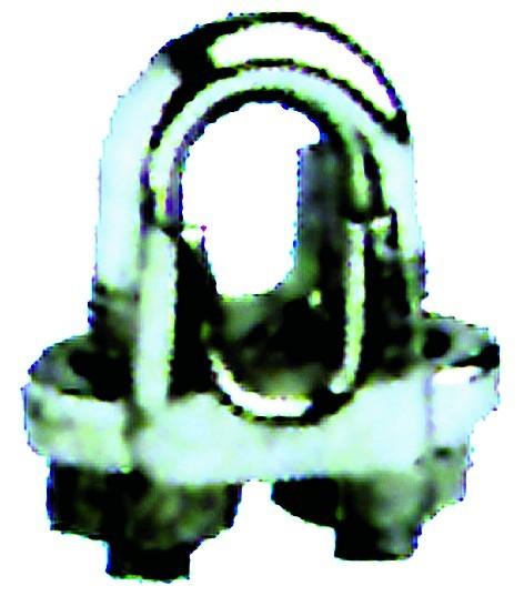 Drahtseilklemmen aus Edelstahl, Werkstoff 1.4401