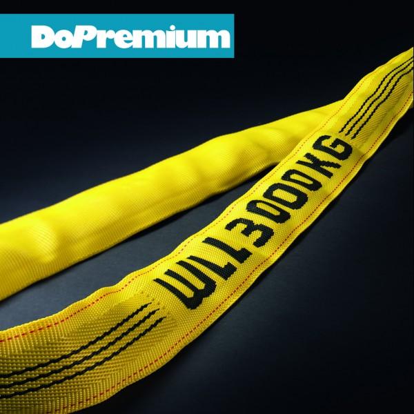 Rundschlinge DoPremium mit eingewebter Tragfähigkeitsangabe