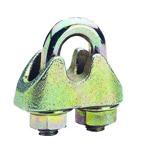 Drahtseilklemme nach DIN EN 13411-5, verzinkt, für Seilverbindungen bei sicherheitstechnischen Anfor