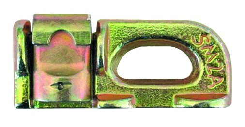 Airline-Ankerschienenzurrgurt, 35 mm Gurtbreite, mit Double Stud-Fitting