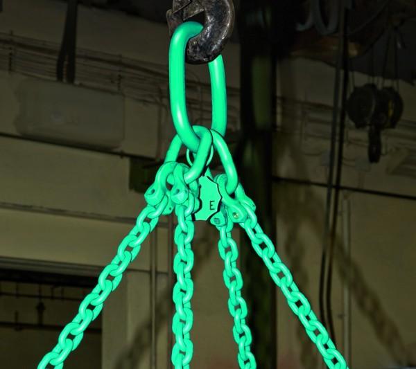 B2-Aufhängekopf mit Gabelverbinder für 2-strängige Ketten
