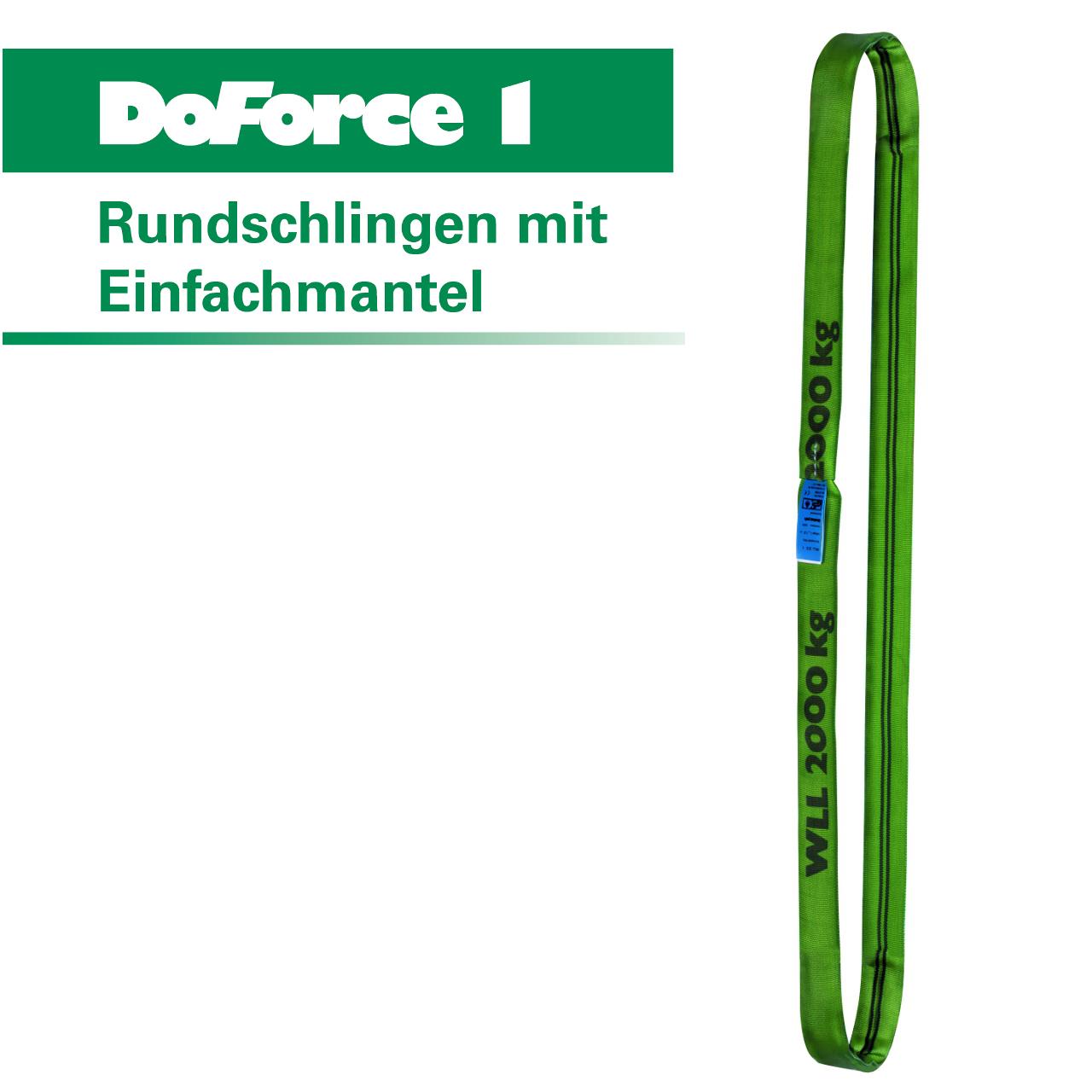 DoForce Rundschlinge 3000 kg Tragkraft 12 m Umfang