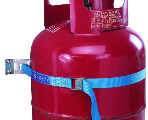 Universal Gasflaschen-Transportsicherung stehend