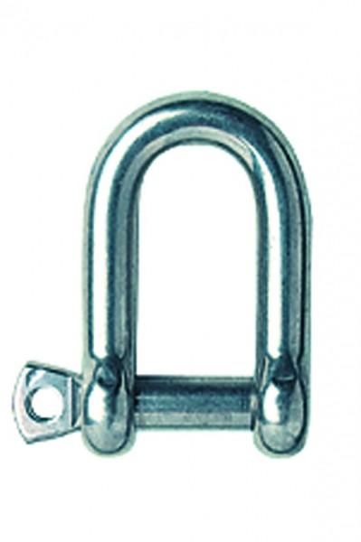 Schäkel aus Edelstahl, Werkstoff 1.4401, gerade Form