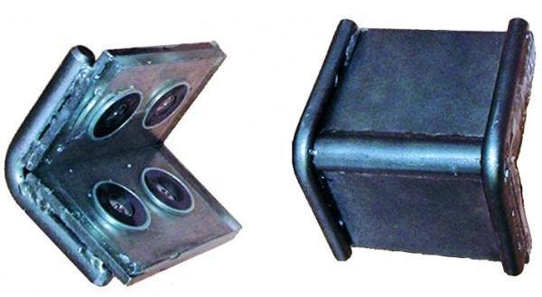 DoLex Schwerlastkantenschutzwinkel mit Magnet und Stahleinlage