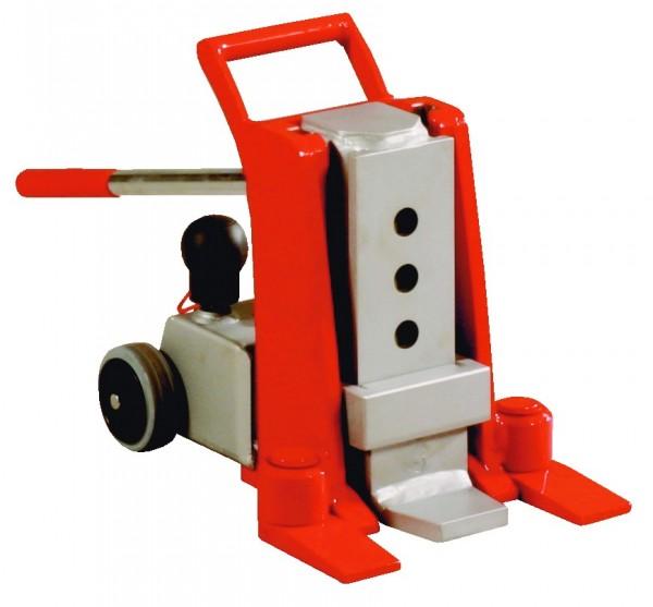 Do JH G plus Maschinenheber, mit integrierter Pumpe und Handgriff, mit schwenkbarer Hublatsche ± 6°