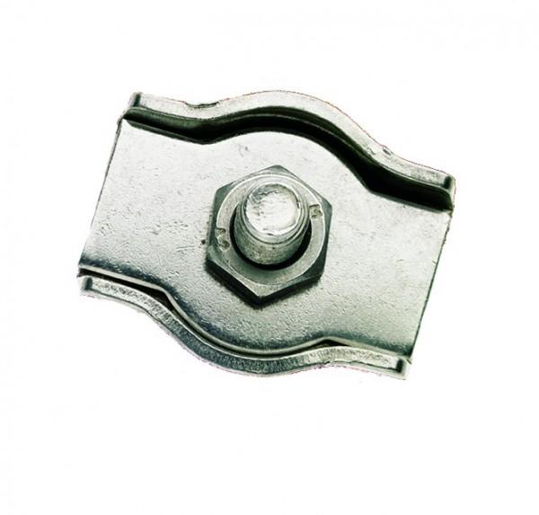 Simplex-Klemmen aus Edelstahl, Werkstoff 1.4301