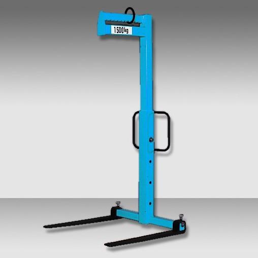 Ladegabel Do 520 mit Verstellzinken, Höhenverstellung und manuellem Gewichtsausgleich