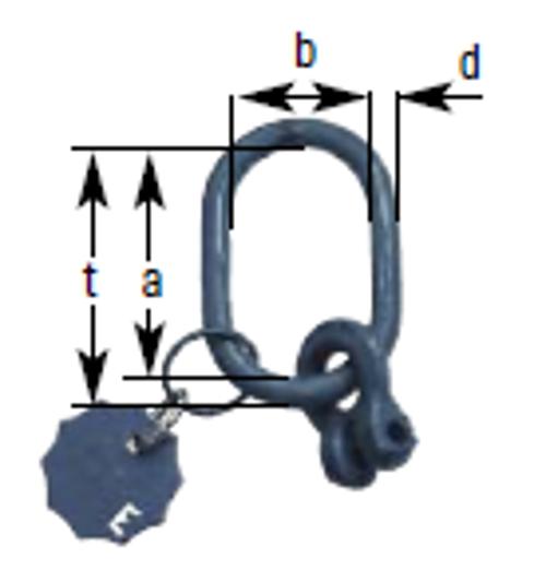A1 - Aufhängekopf mit Gabelverbinder für 1-strängige Ketten