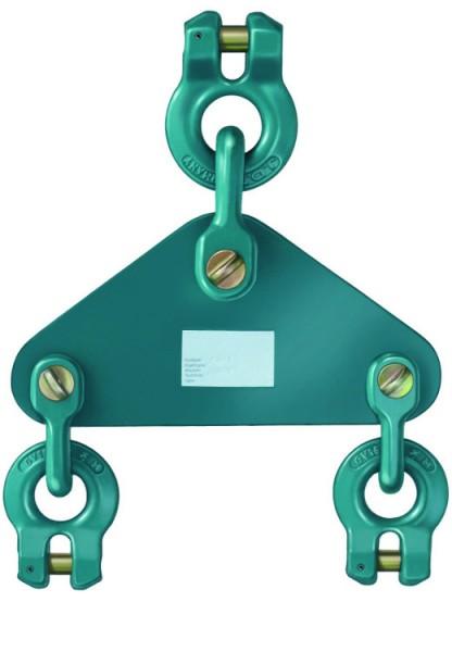 Ausgleichswippe AWI 2 mit Gabelverbindeanschluss, für Mehrstrangektten