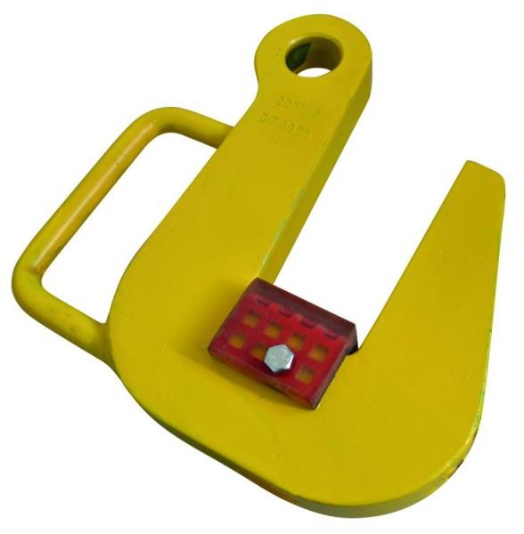 Rohrtransporthaken mit PU-Belag, auswechselbar