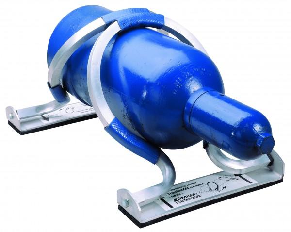 Gasflaschen-Transport-Sicherung / liegend