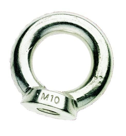 Ringmutter, Werkstoff 1.4301