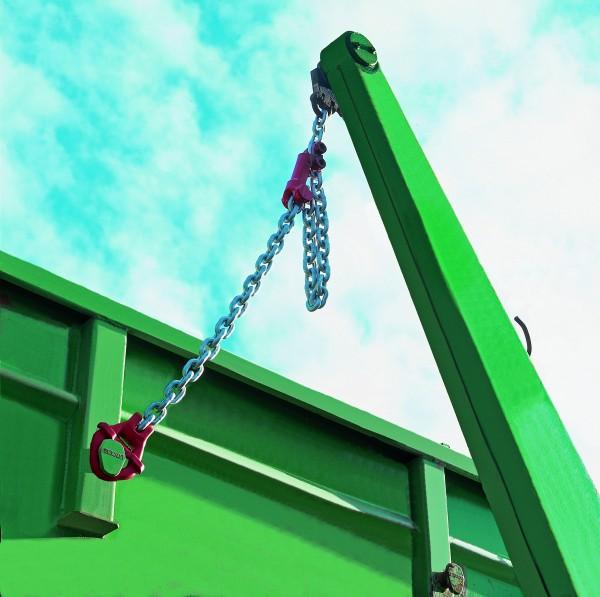 Absetzkipperöse für Absetzkipper AGS (5,3t) + AGS (8 t) mit seitlicher Sicherungsklappe