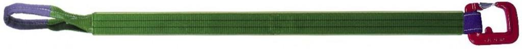 DoLex Hebebänder einseitige Festbeschichtung mit Schlaufe und Schnürhaken HSH