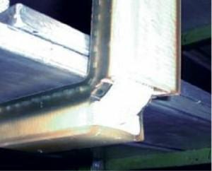 DoLex Hebeband-Kantenschutzwinkel aus PU mit Lochblecheinlage f. gleichmäßige Lastverteilung Foto