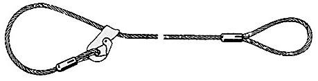 Drahtseil-Lastschlinge: Fasereinlage, Stahleinlage uvm. | Dolezych ...