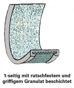 Festbeschichtung Granulat einseitig