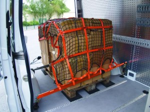 Ladungssicherungsnetz-Kastenwagen
