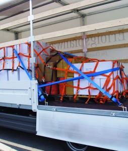 Ladungssicherungsnetz-LKW