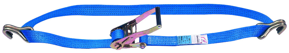 """Heavy Duty 2/"""" Wide 4m Long 1 x Hook End Replacement Tie Down Strap Car //"""
