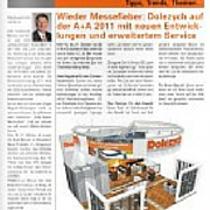 Kundenzeitung Dolezych aktuell