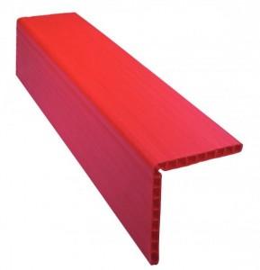 Kantenschutzschiene rot