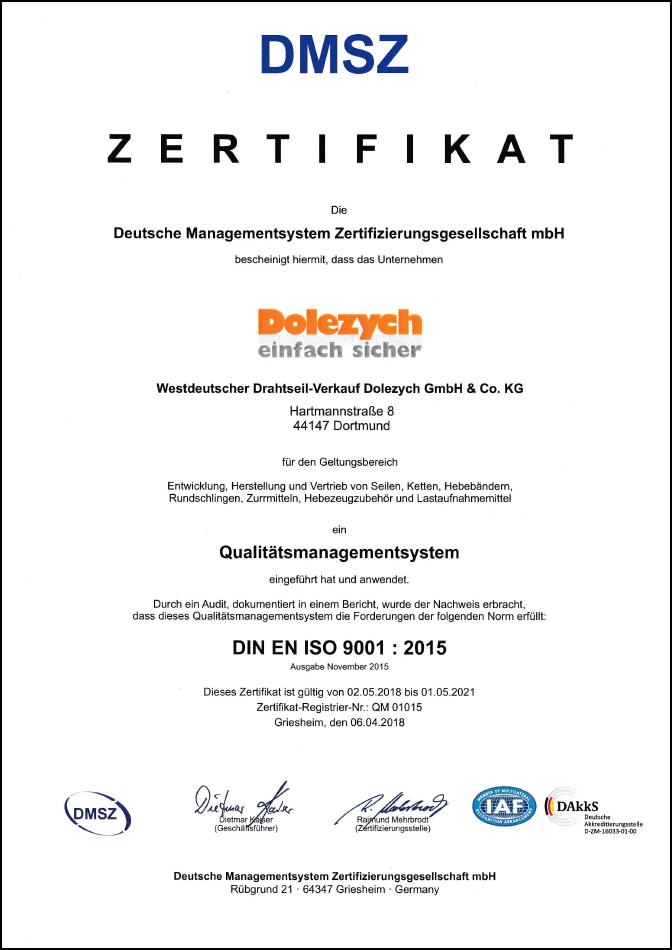 qm-zertifikat